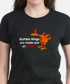Buffalo Wings are made out of what? Tee