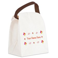 Generic Girl 1 Canvas Lunch Bag