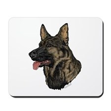 Sable German Shepherd Mousepad