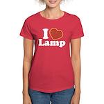 I Love Lamp Women's Dark T-Shirt