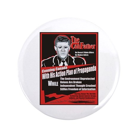 "Harper The ConFather 3.5"" Button (100 pack)"