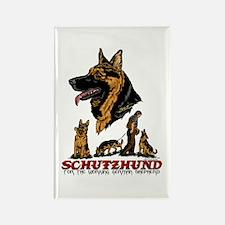 Schutzhund Rectangle Magnet #1