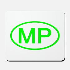 MP Oval - Northern Mariana Islands Mousepad