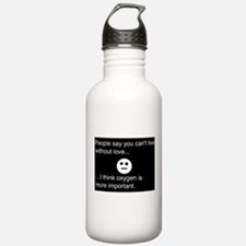 living without love.. Water Bottle