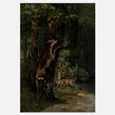Deer in the Forest, 1868