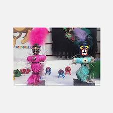 Voodoo Dolls Rectangle Magnet