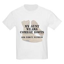 AF Nephew Aunt wears DCB T-Shirt