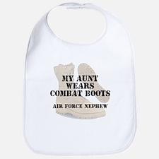 AF Nephew Aunt wears DCB Bib