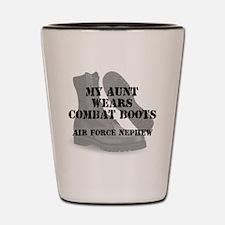AF Nephew Aunt Wears CB Shot Glass