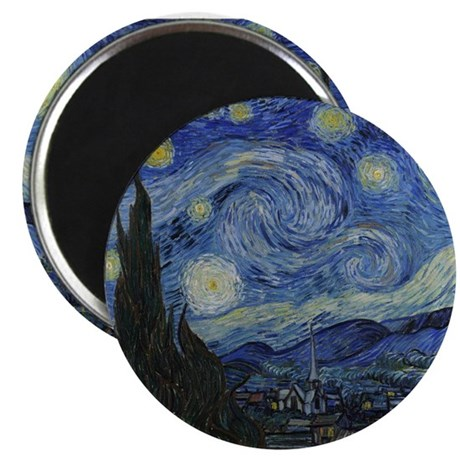 Vincent Van Gogh Starry Night Magnet