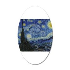 Vincent Van Gogh Starry Night Wall Decal