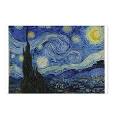 Vincent Van Gogh Starry Night Postcards (Package o