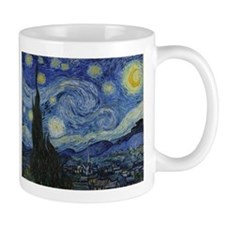Vincent Van Gogh Starry Night Small Mugs