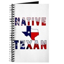 Native Texan Flag Map Journal