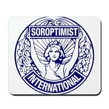 Soroptimist International BlueWhite Mousepad