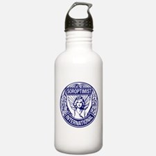 Soroptimist International BlueWhite Water Bottle