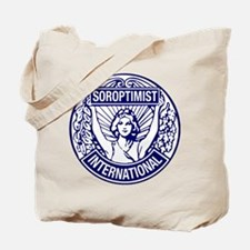 Soroptimist International BlueWhite Tote Bag
