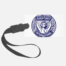Soroptimist International BlueWhite Luggage Tag