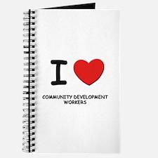 I love community development workers Journal