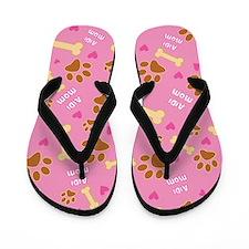 Aidi Mom Gift Flip Flops