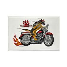 RH Riders Rectangle Magnet #1