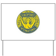 Soroptimist International (Blue/Gold) Yard Sign
