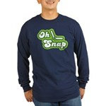 Oh Snap Long Sleeve Dark T-Shirt