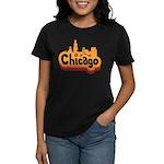 Retro Chicago Women's Dark T-Shirt