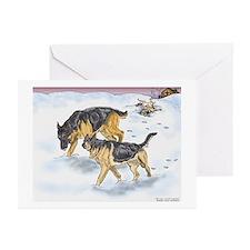 German Shepherd Christmas Cards #2 (Pk of 10)