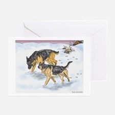 German Shepherd Christmas Cards #2 (Pk of 10)