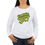 Captain Obvious Women's Long Sleeve T-Shirt