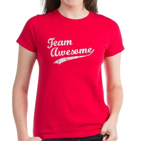 Team Awesome Women's Dark T-Shirt