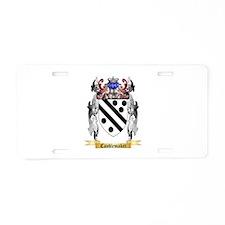 Candlemaker Aluminum License Plate
