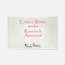 Erotica Writer Rectangle Magnet