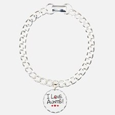 I Love Auntie - Kid Scribble Bracelet