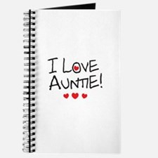I Love Auntie - Kid Scribble Journal