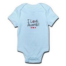 I Love Auntie - Kid Scribble Body Suit