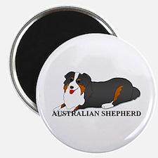 Australian Shepherd Dog Magnet