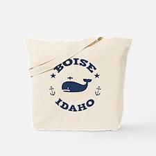Boise Whale Tours Tote Bag