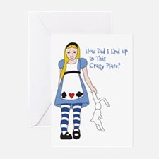 Crazy Place Greeting Cards (Pk of 10)
