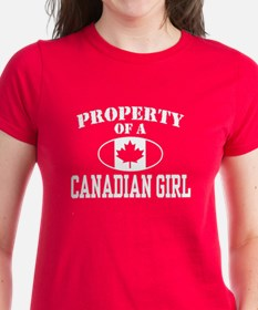 Property of a Canadian Girl Tee