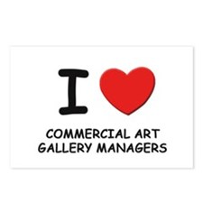 I love commercial art gallery managers Postcards (
