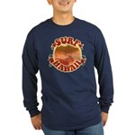 Surf Hawaii Long Sleeve Dark T-Shirt