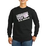 Yo! I'll Solve It Long Sleeve Dark T-Shirt