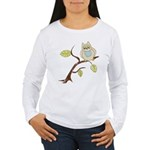 Lazy Owl Women's Long Sleeve T-Shirt