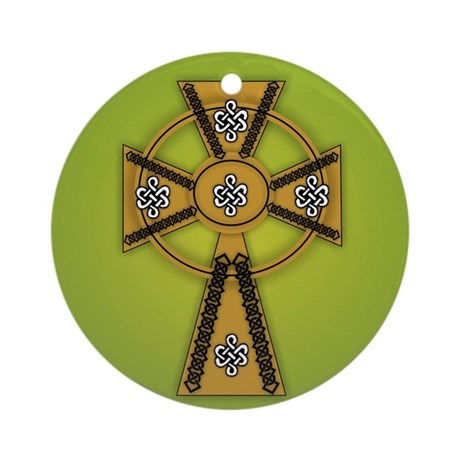 CROSS Ornament (Round)