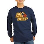 Go Balls Deep Long Sleeve Dark T-Shirt