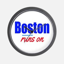 Boston Runs On Wall Clock