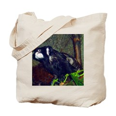 mustached tamarin Tote Bag