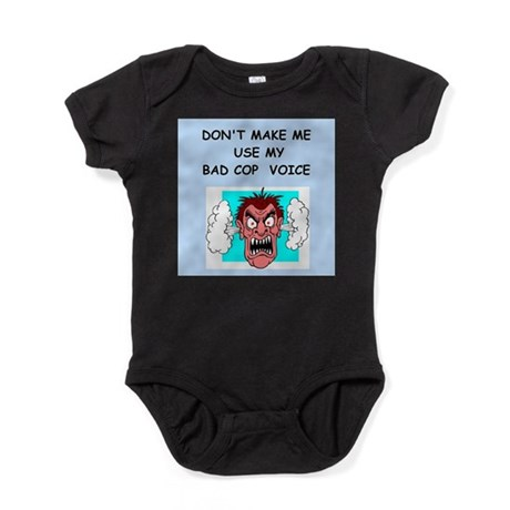 bad cop Baby Bodysuit
